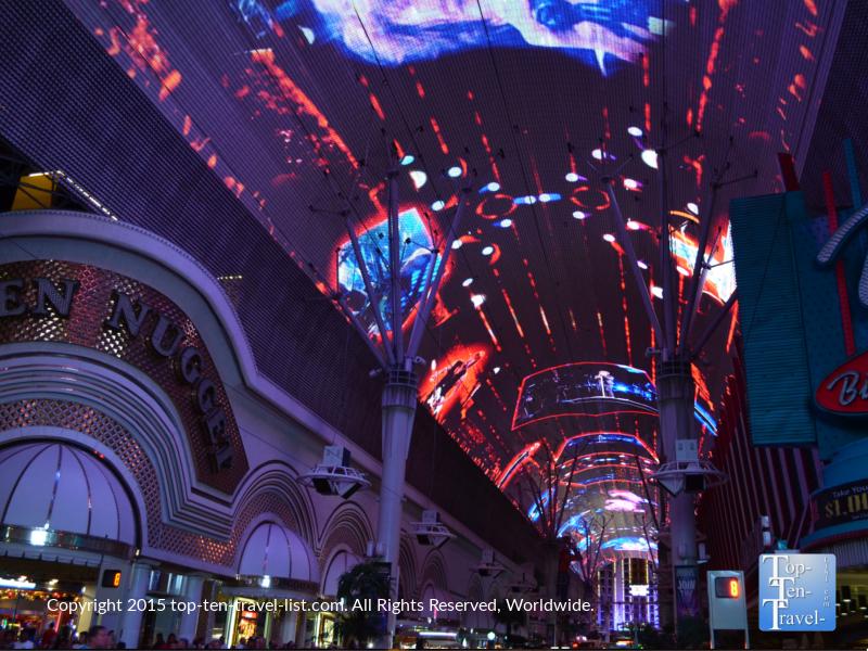 Fremont Street Experience in Las Vegas, Nevada