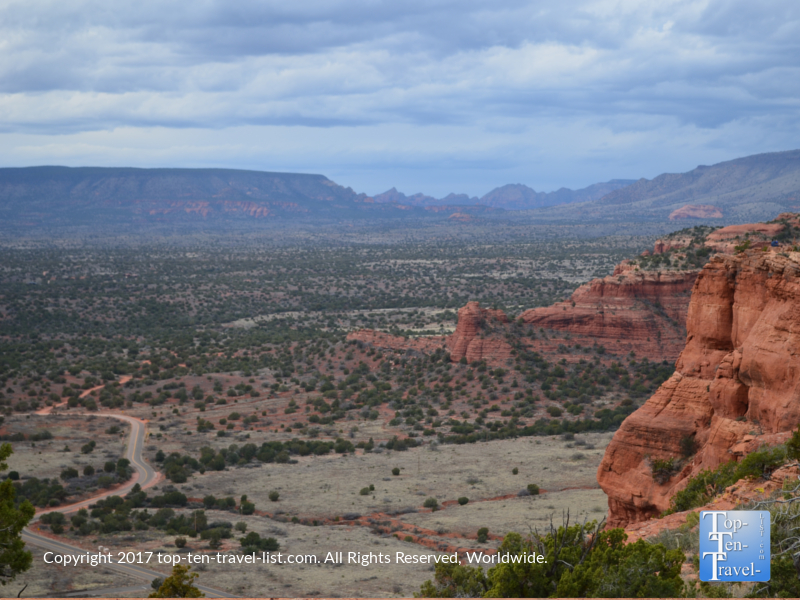 Amazing scenery from Sedona's Doe Mountain trail