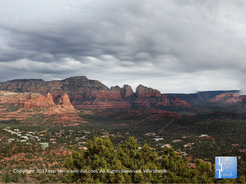Amazing views of Sedona from the Sugarloaf Summit Trail