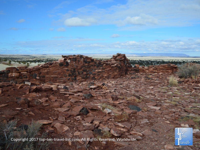 Ancient ruins at Wupatki National Monument