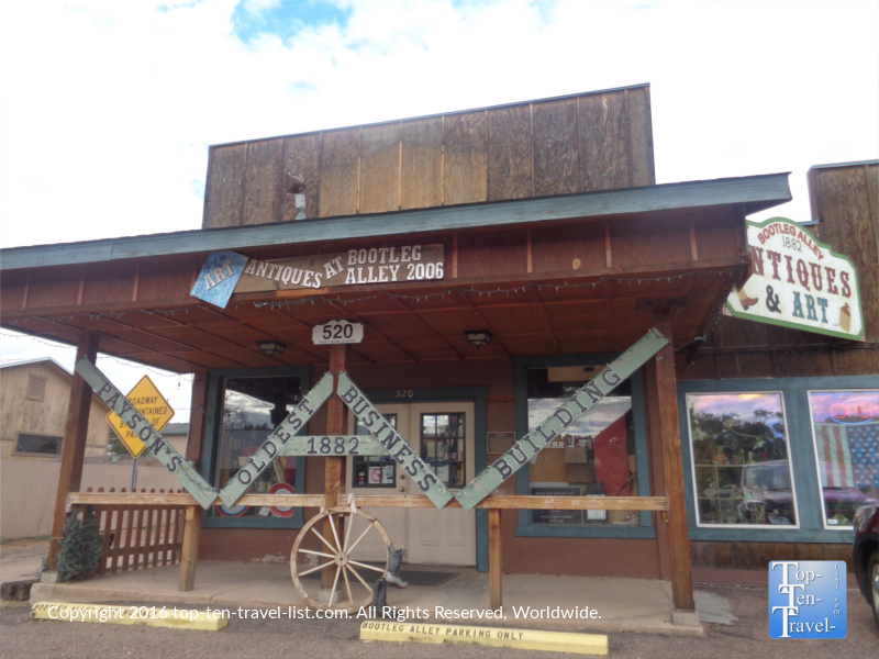 Antique shop in Payson Arizona