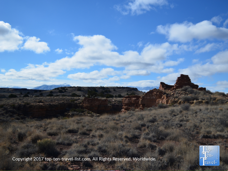 Lomaki ruins at Wupatki National Monument in Arizona