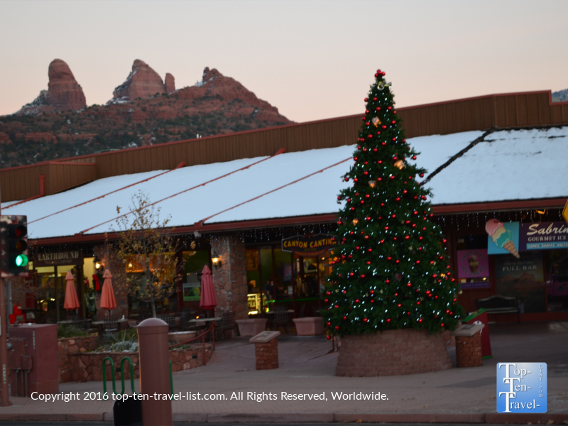 Christmastime in Uptown Sedona
