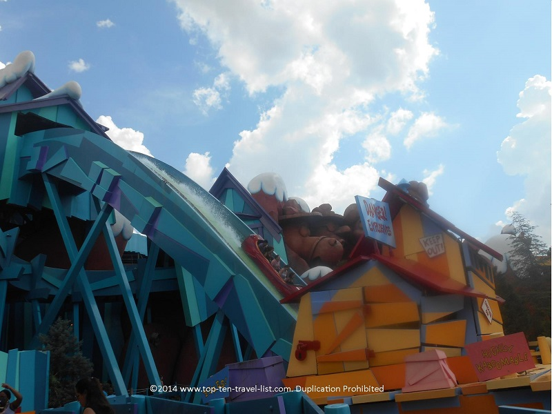 Dudley Do Right's Ripsaw Falls at Universal Studios