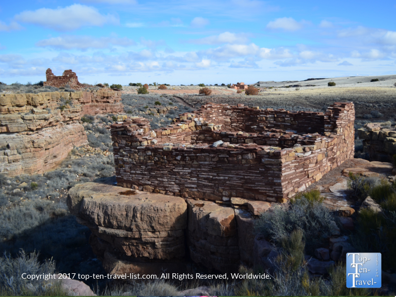 Lomaki pueblo at Wupatki National Monument in Arizona