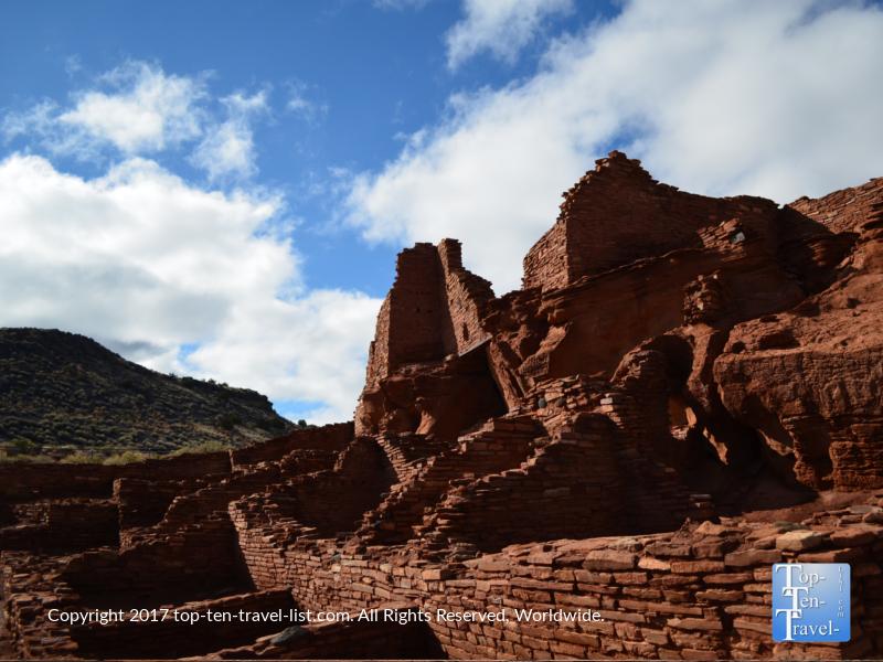 The 100 room pueblo at Wupatki National Monument