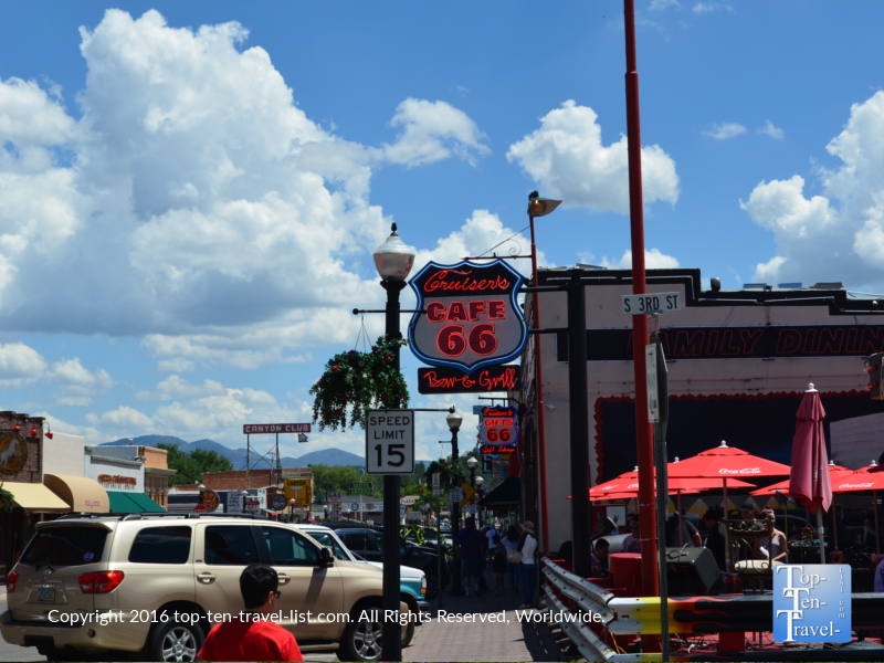 Route 66 gift shop in Williams Arizona