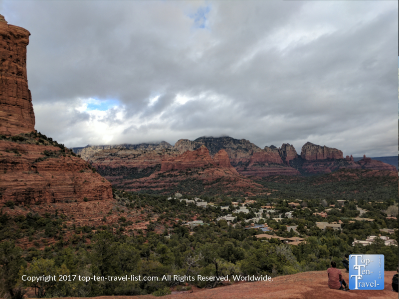 Stunning views from the Teacup trail in Sedona