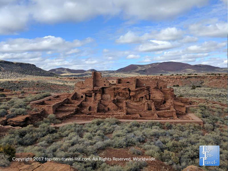 Wupatki National Monument in Northern Arizona