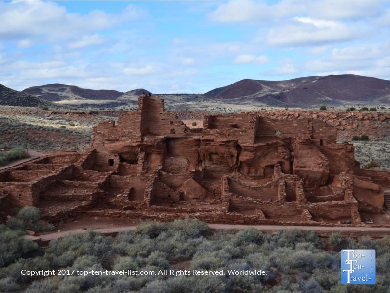 Wupatki National Monument in Northern Arizona