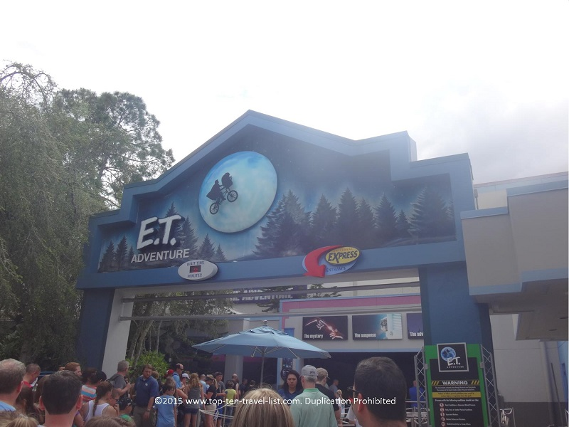 E.T. the Ride at Universal Studios in Orlando, Florida