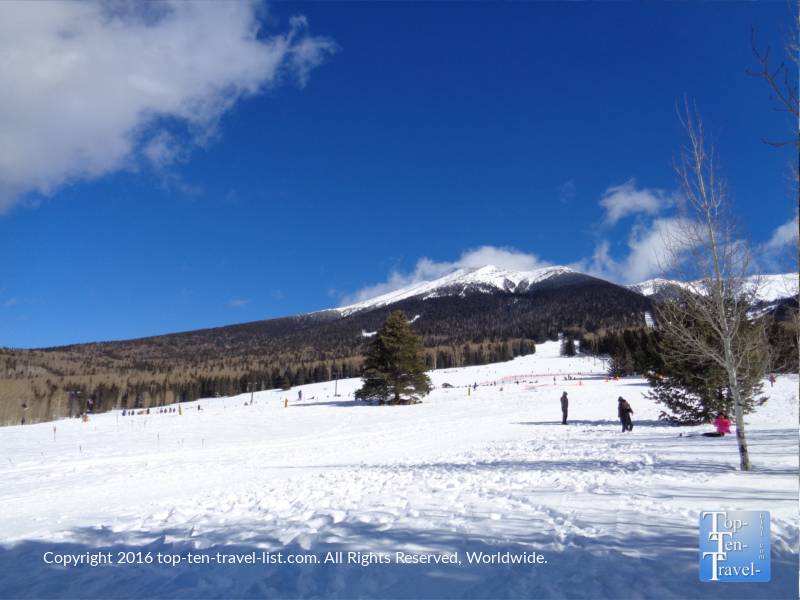 Arizona Snowbowl in Flagstaff, Arizona