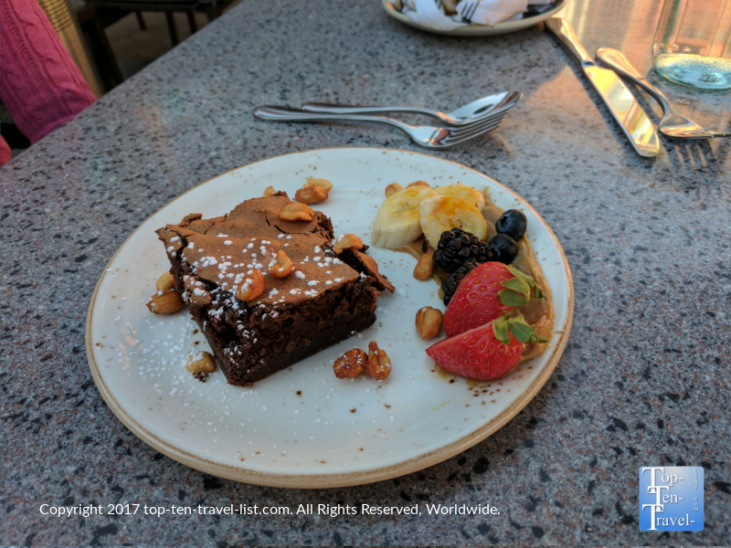 Flourless Chocolate Torte at Saltrock Southwest Kitchen in Sedona AZ