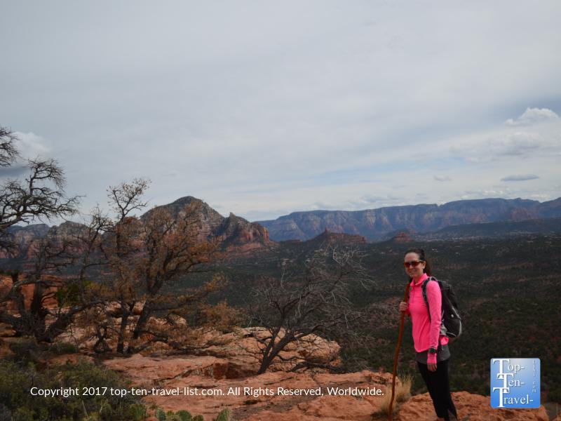 Gorgeous photo opp at Doe Mountain in Sedona AZ