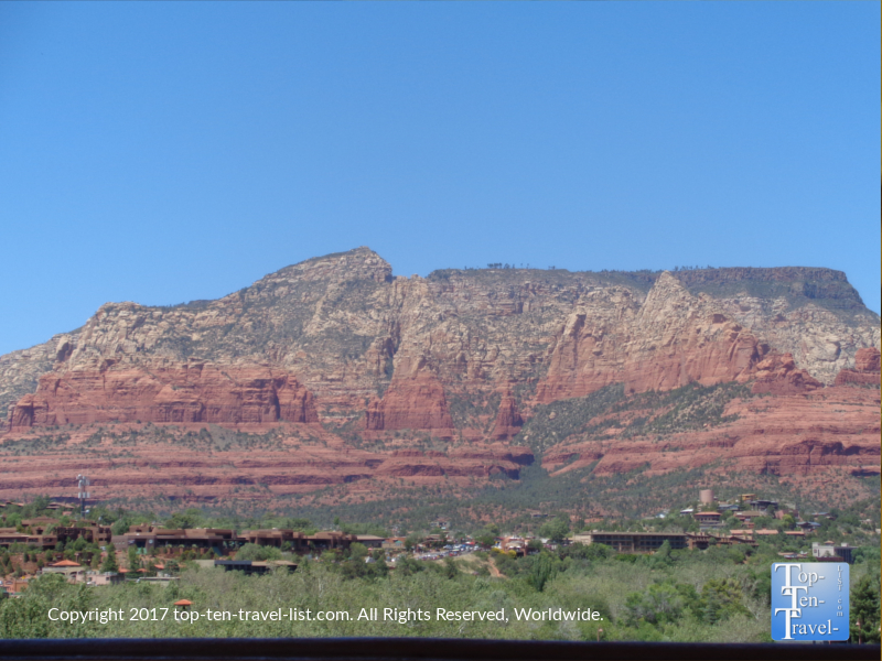 Gorgeous red rock scenery from The Hudson in Sedona AZ