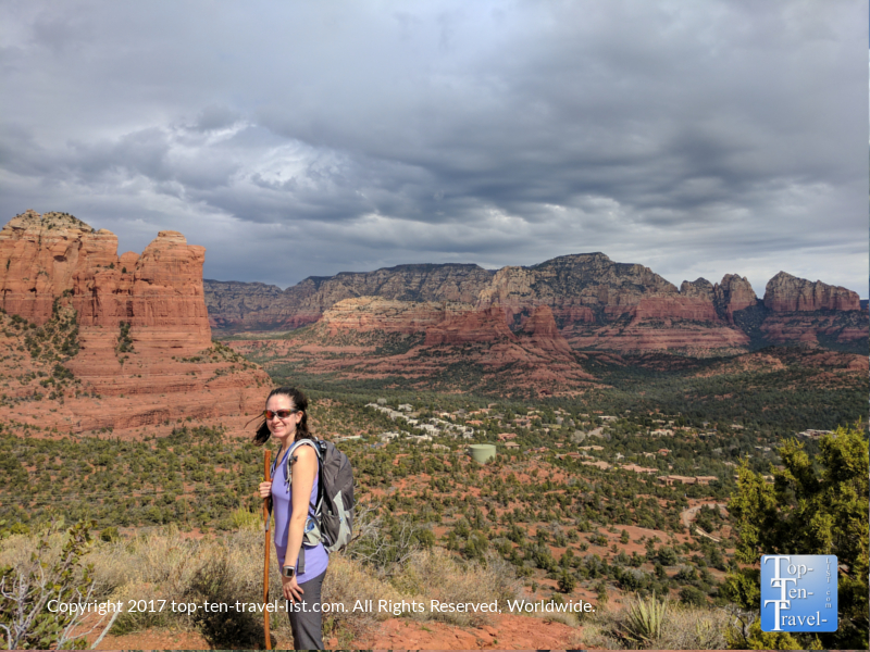 Incredible red rock scenery along the Sugarloaf Trail in Sedona
