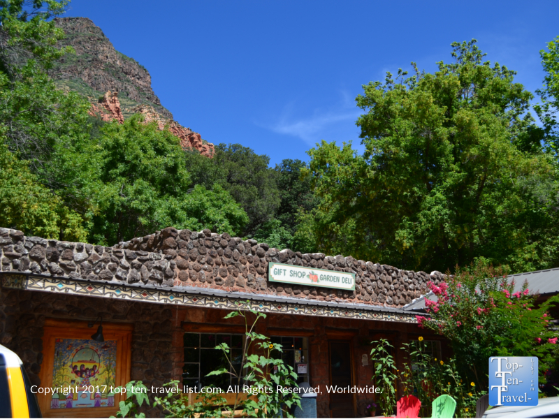 Indian Gardens in beautiful Oak Creek Canyon