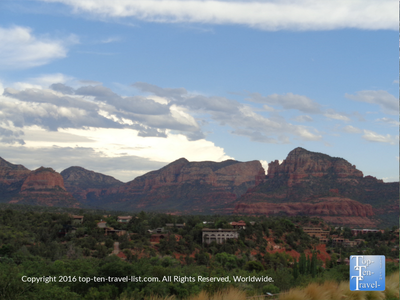 Magnificent views from Uptown Sedona
