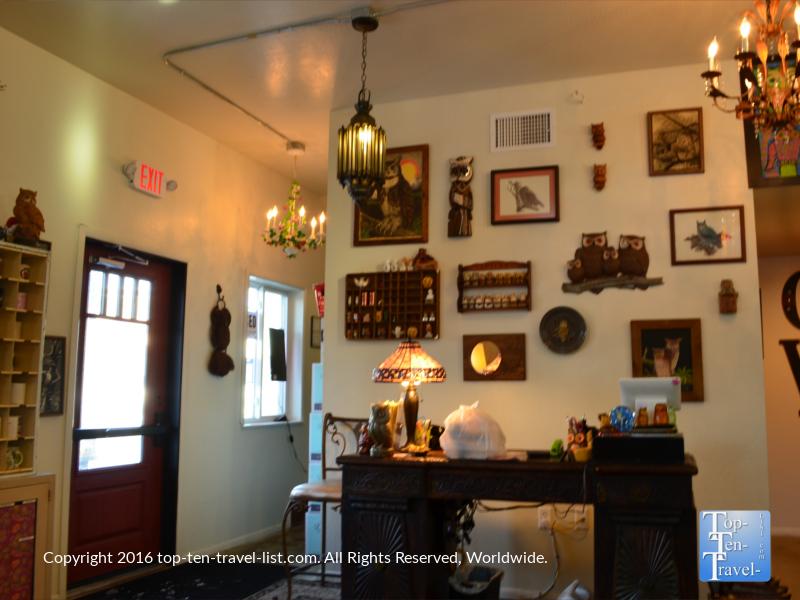 Toasted Owl Restaurant in Flagstaff, Arizona