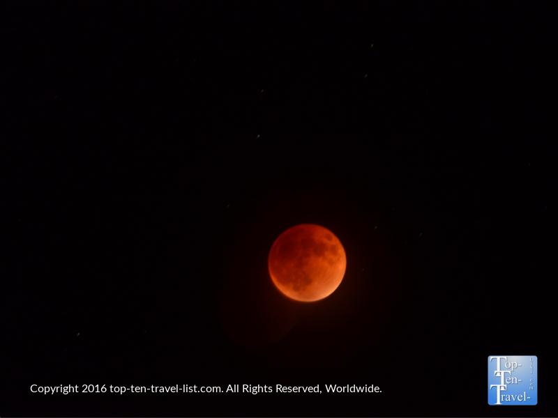 Blood Moon in Flagstaff AZ