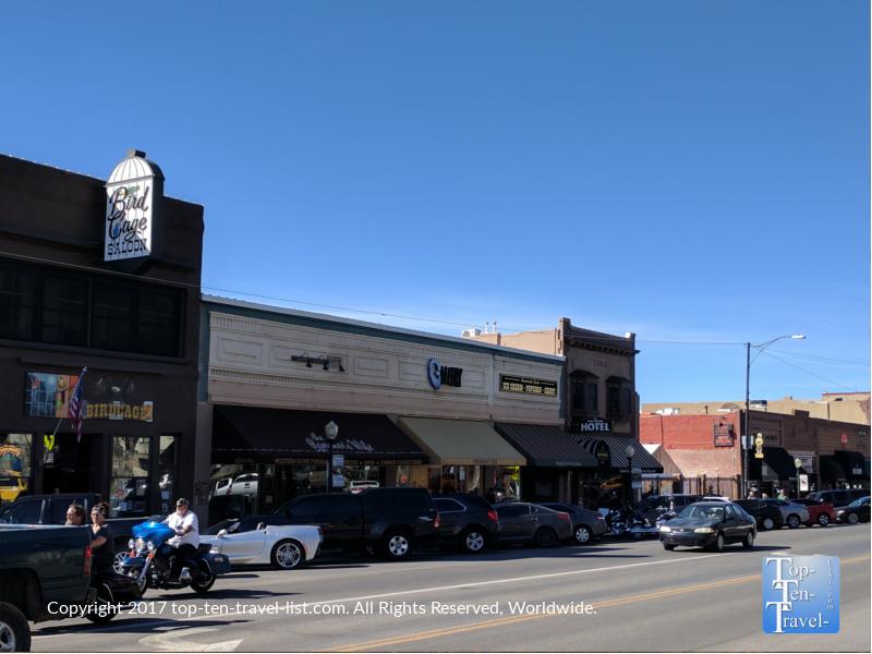Whiskey Row in downtown Prescott AZ