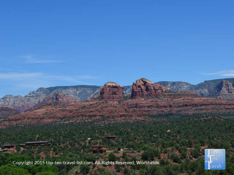 Pretty red rock scenery at Red Rock State Park in Sedona, Arizona