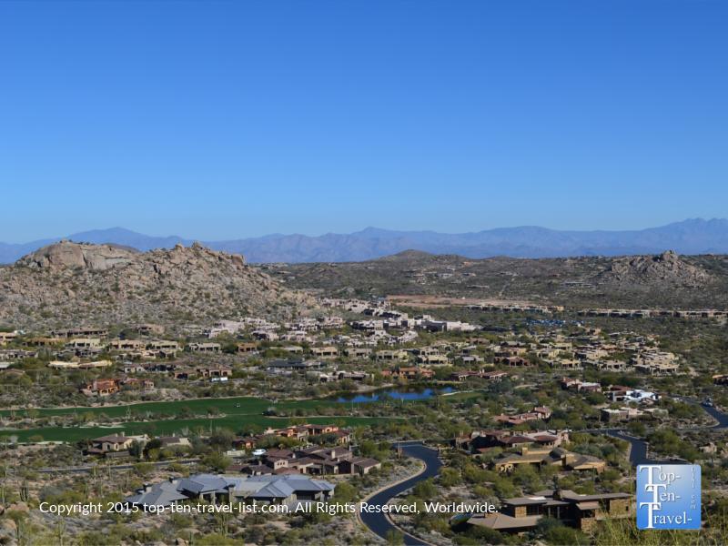 Amazing views of Scottsdale from the Pinnacle Peak Trail