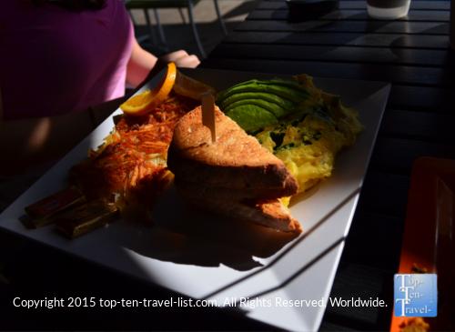 Breakfast plate at Scramble in Phoenix AZ