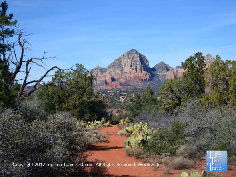 Great views from the Marg's Draw trail in Sedona, Arizona