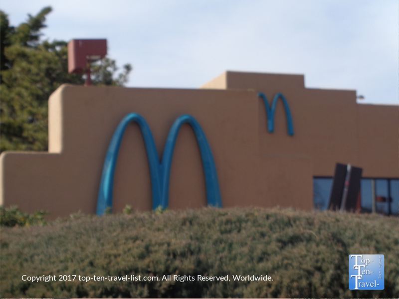 The only McDonald's in the world without golden arches - Sedona, Arizona