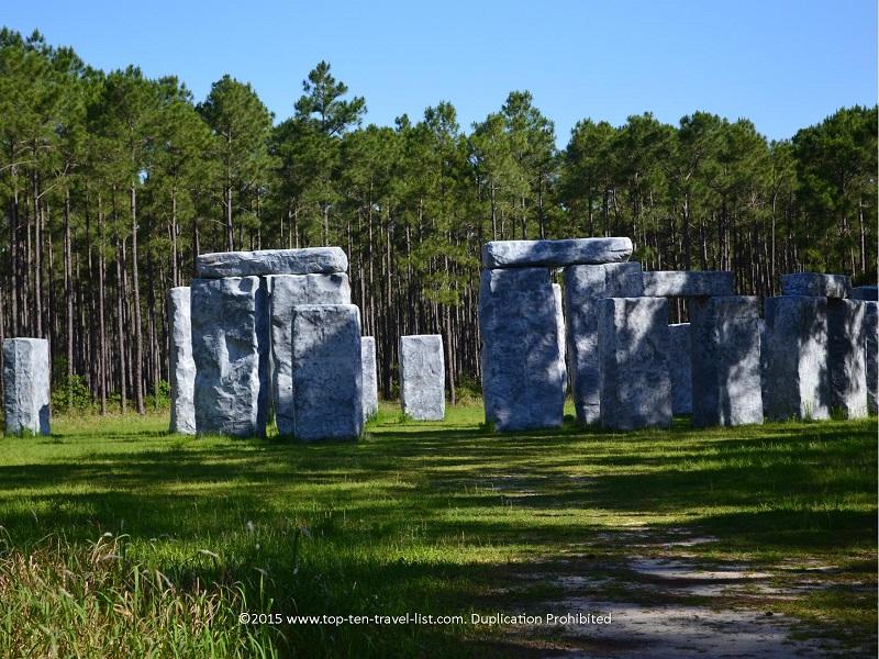 Bamahenge Stonehenge replica in Alabama