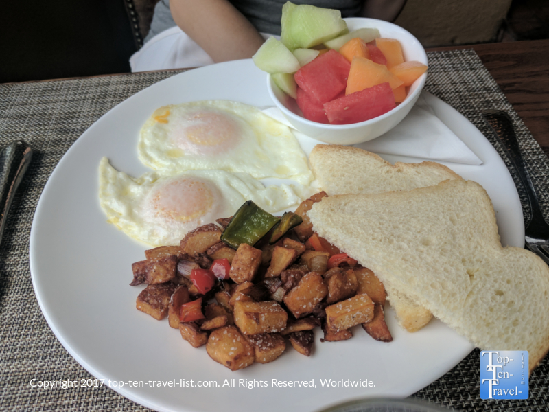 Breakfast at the Grill at Hacienda del Sol in Tucson AZ