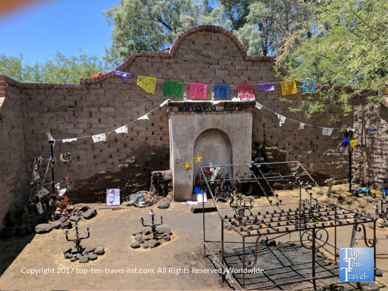 El Tiritado Shrine in Tucson AZ