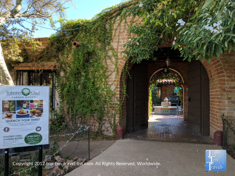 Tohono Chul Garden Bistro in Tucson AZ
