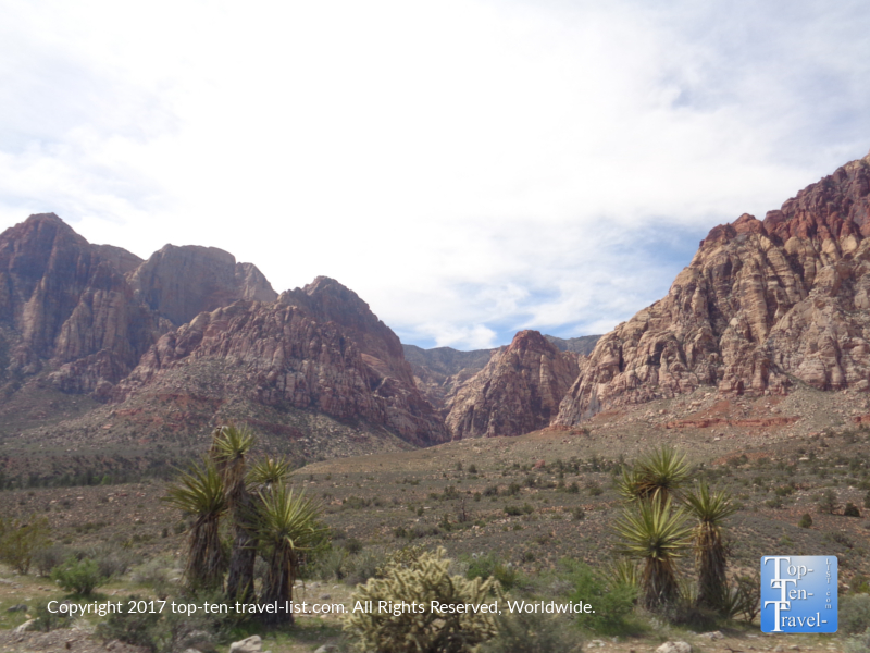 Amazing scenery from Red Rock Canyon in Vegas