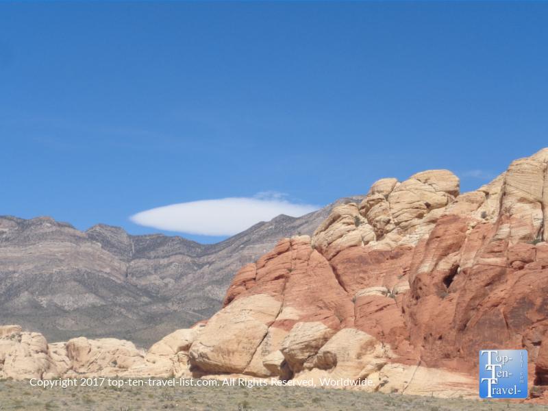 Amazing views at Red Rock Canyon in Vegas