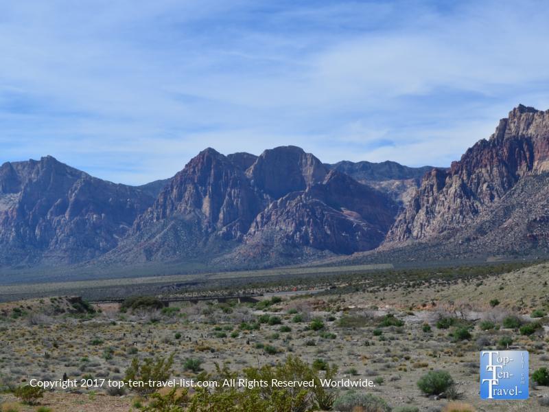 Beautiful views at Red Rock Canyon in Vegas