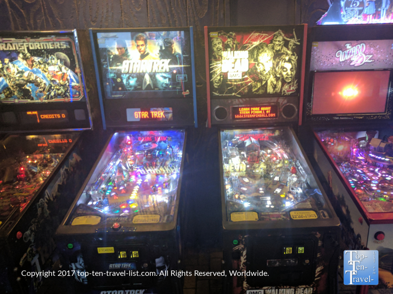 D and D Pinball in Tucson AZ