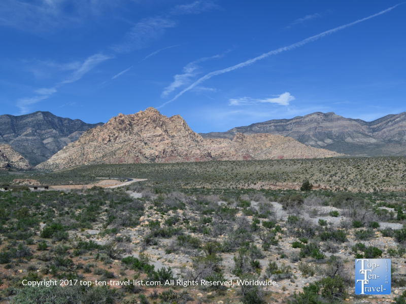 Magnificent views at Red Rock Canyon in Vegas