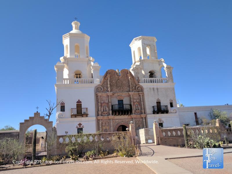 Mission San Xavier del Bac in Tucson AZ