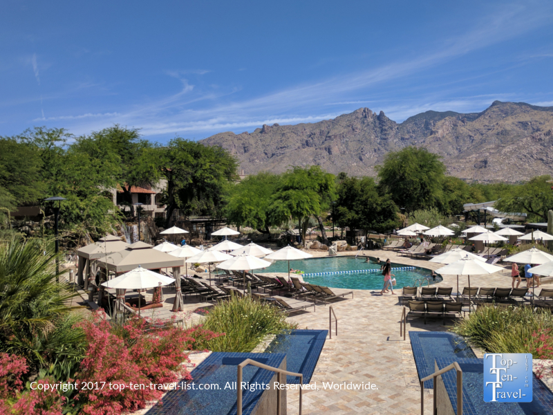 Pool at the Westin La Paloma in Tucson AZ