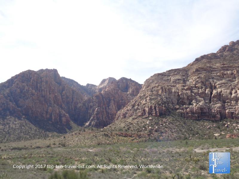 Serene desert views at Red Rock Canyon in Vegas