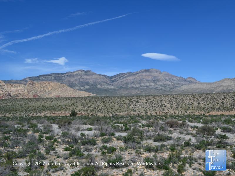 Stunning views at Red Rock Canyon in Vegas