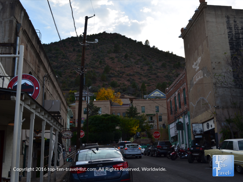 Historic downtown Jerome AZ