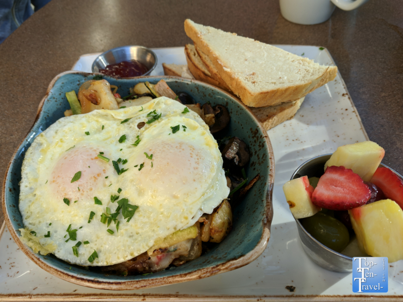Market skillet at First Watch in Tucson, Arizona