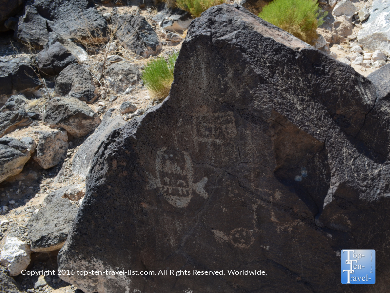 Petroglyphs at Petroglyph National Monument
