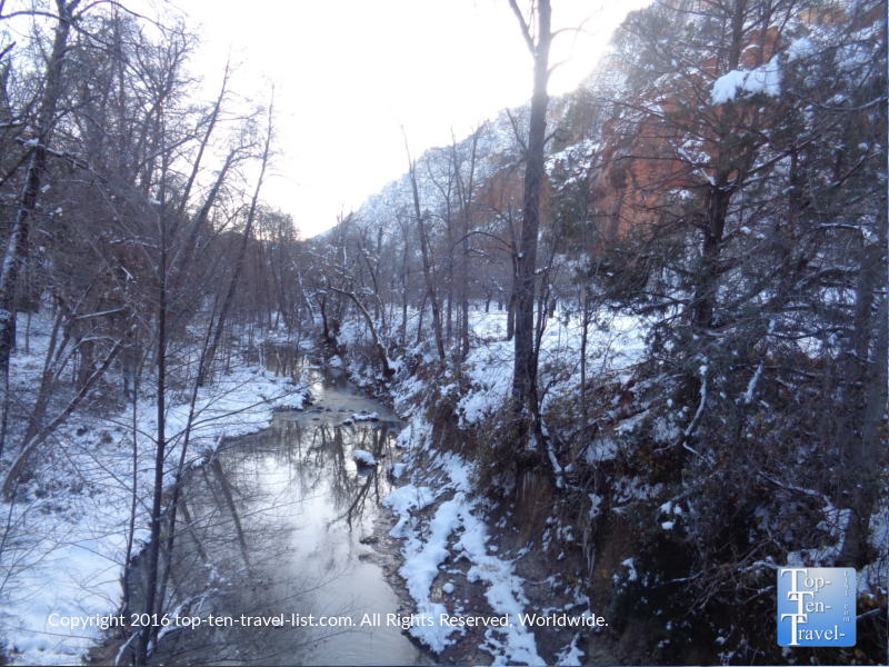 Quiet creek views along the West Fork Trail in Sedona