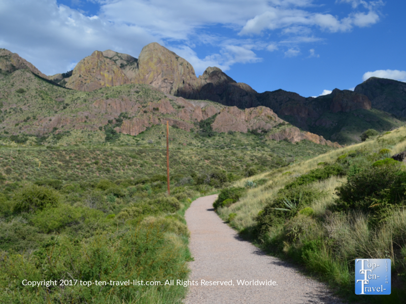Beautiful views along the Dripping Springs trail in NM