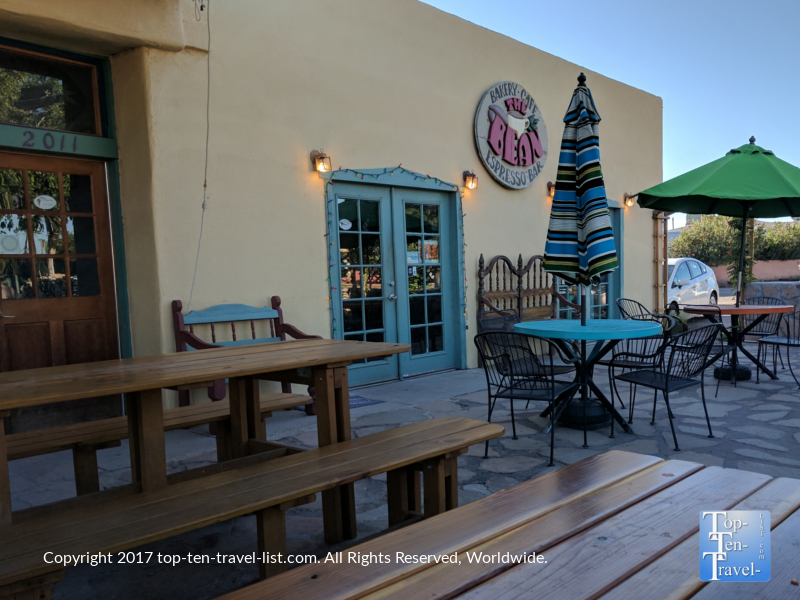 The Bean coffee shop in historic Mesilia, New Mexico