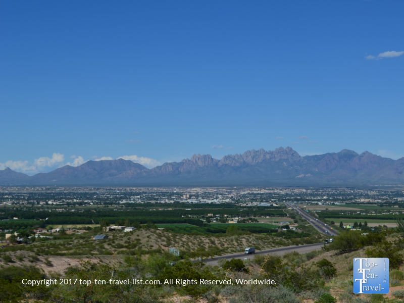 Las Cruces, New Mexico and the beautiful Organ Mountains surrounding the city